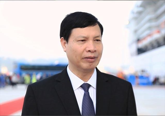 Ông Nguyễn Đức Long - Chủ tịch UBND tỉnh Quảng Ninh.