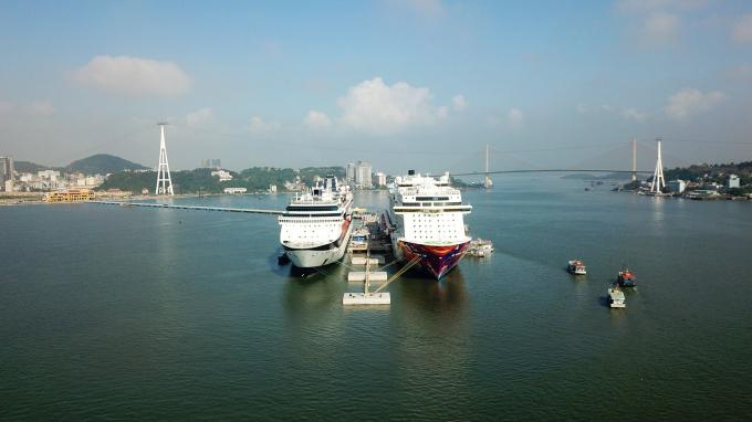 Quảng Ninh có cảng tàu khách quốc tế chuyên biệt đầu tiên của Việt Nam.