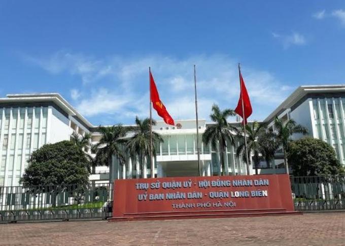 Trụ sở UBND Quận Long Biên, Hà Nội.