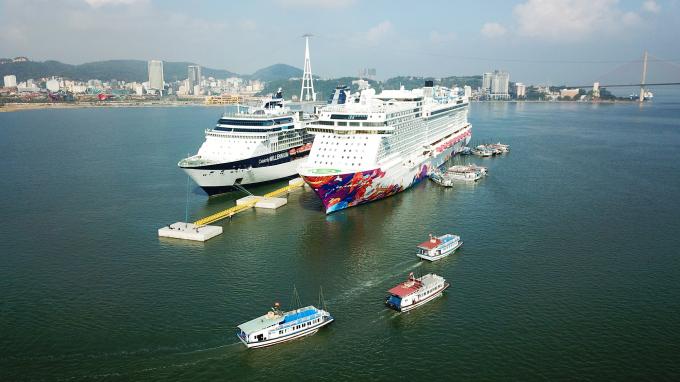 Lần đầu tiên Việt Nam có cảng tàu khách quốc tế chuyên biệt.