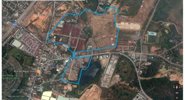 Dự án khu nhà ở phường Long Bình, Q.9, TP.HCM - Ảnh; Sacombank.