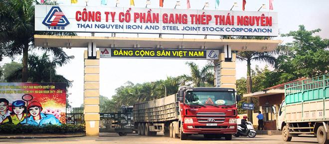 Công ty cổ phần gang thép Thái Nguyên đang đối mặt với hàng loạt khó khăn do dự án mở rộng sản xuất giai đoạn 2.