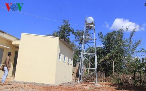 Dù đang trong giai đoạn mời thầu, nhưng công trình cấp nước, nhà vệ sinh tại trạm y tế xã Ia Glai, Chư Sê, Gia Lai đã sẵn sàng đưa vào sử dụng.