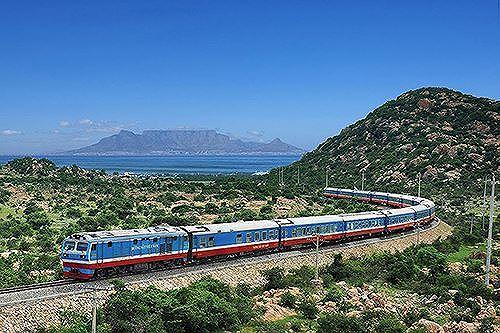 Miền Đông Nam Bộ sẽ có tuyến đường sắt với vận tốc thiết kế 160km/h (Ảnh minh họa).