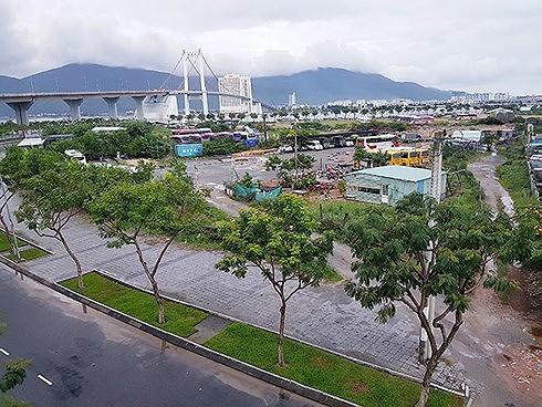 Khu đất được TP Đà Nẵng đưa ra đấu giá để thực hiện dự án Khu công viên phần mềm số 2 (Ảnh: HC).