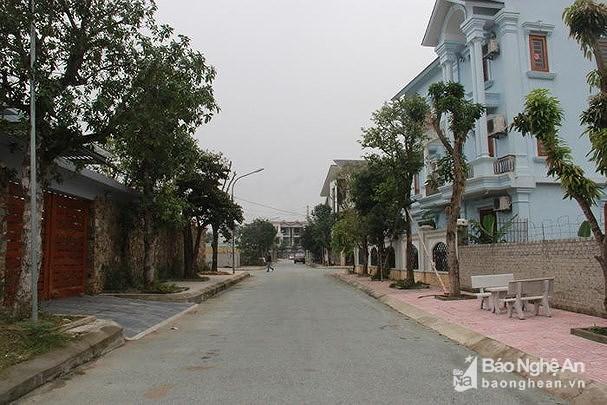 Một góc khu đô thị Minh Khang. Ảnh: Hoàng Vĩnh.