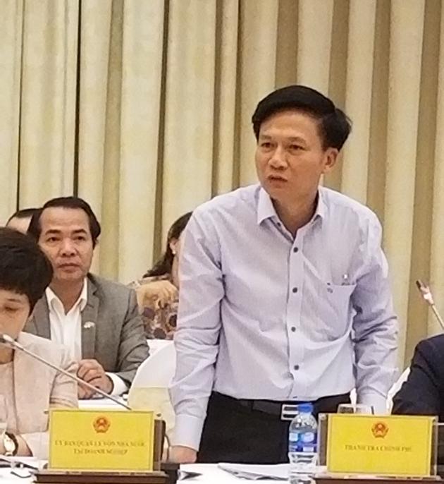Ông Bùi Ngọc Lam cho hay, vụ việc đã chuyển Ủy ban kiểm tra trung ương.