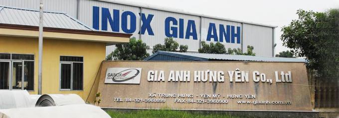 Công ty TNHH Gia Anh Hưng Yên (Nguồn: yellowpages.vnn.vn).