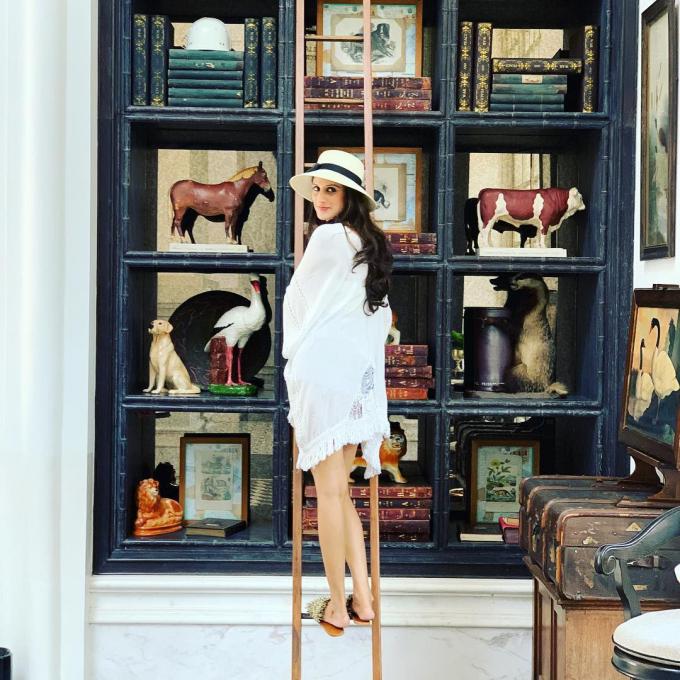 Cô dâu Kaabia check in tại Khách sạn JW Marriott Phu Quoc Emmerald Bay Nguồn Instagram.