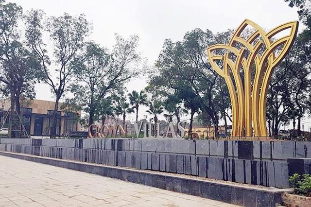 Toàn bộ khu đất nhà máy thép Gia Sàng được chuyển mục đích xây dựng khu đô thị mới Crown Villas (với tên thường gọi Thái Hưng Eco City-PV).