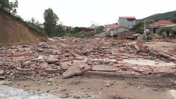 Toàn bộ 19 công trình xây dựng trái phép đều đã được phá dỡ. (I.T).