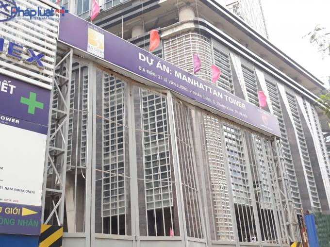 Dự án Manhattan Towernằm tại địa chỉ 21 Lê Văn Lương,phường Nhân Chính, quận Thanh Xuân, thành phố Hà Nội.