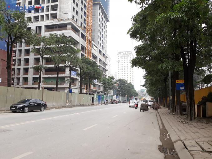 Dự án tọa lạc tại số 23 đường Duy Tân, phường Dịch Vọng Hậu, quận Cầu Giấy, TP Hà Nội.