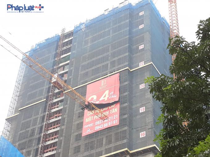 Hiện tại, dự án đã xây đến tầng 28.