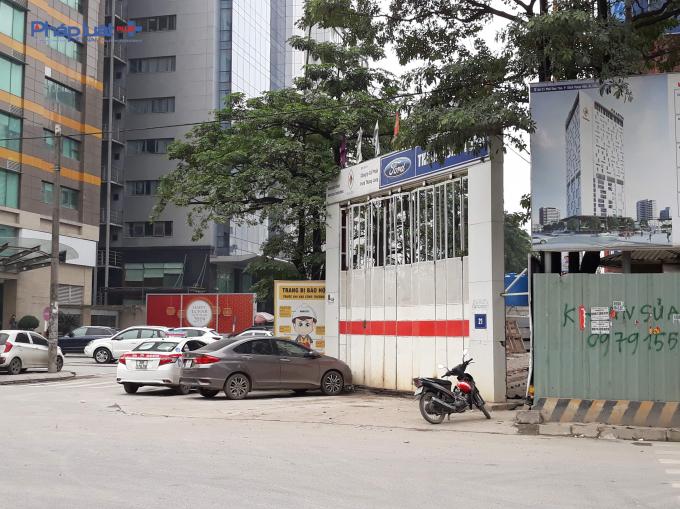 Dự án tọa lạc tại số 21 phố Duy Tân, phường Dịch Vọng Hậu, quận Cầu Giấy, TP. Hà Nội.