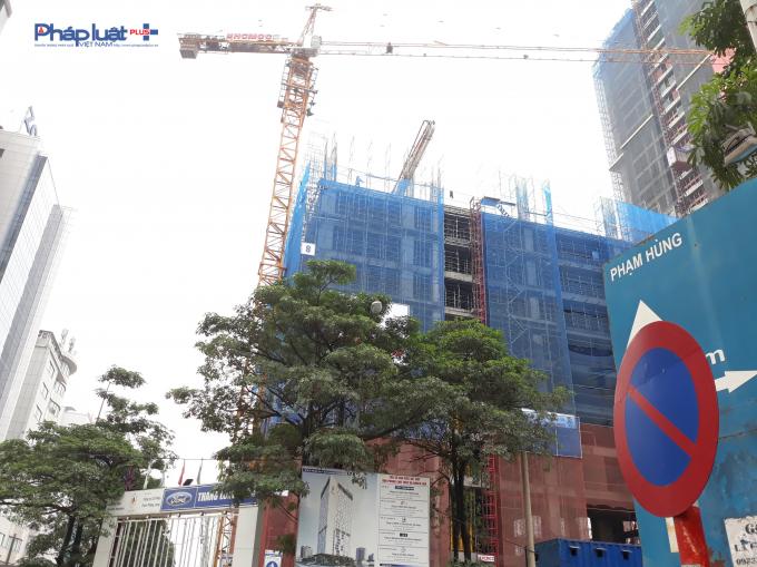 Công trình được chủ đầu tư khởi công vào tháng 4/2018.