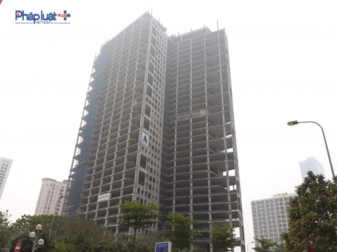 Dự án được xây dựng tại lô đất 22E3 thuộc Khu đô thị mới Cầu Giấy, Hà Nội.