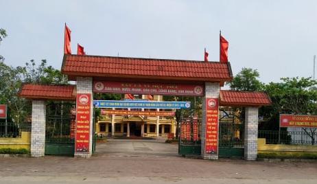 UBND xã Thạch Bằng.