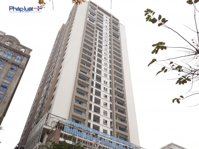 Dự án tọa lạc tại số 107 Nguyễn Phong Sắc, quận Cầu Giấy.
