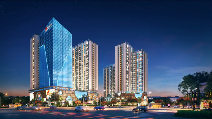 Hinode City – một trong số dự án căn hộ nội đô cao cấp hiếm hoi đang mở bán.