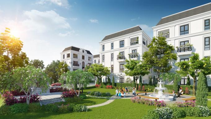 Elegant Park Villa đang là tâm điểm đầu tư tại Long Biên.