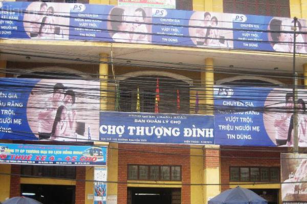 Dự án Trung tâm thương mại và dịch vụ Thượng Đình trên đất vàng Nguyễn Trãi (Thanh Xuân, Hà Nội).