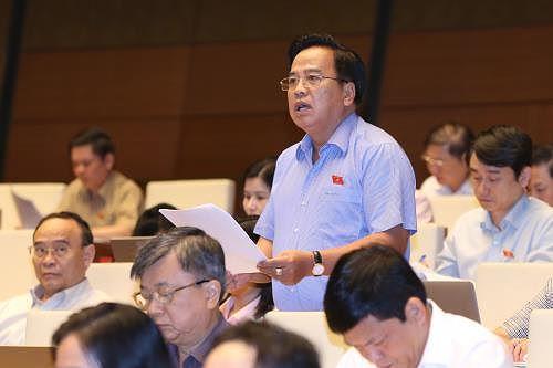 Đại biểu Quốc hội Nguyễn Thanh Xuân (Cần Thơ).