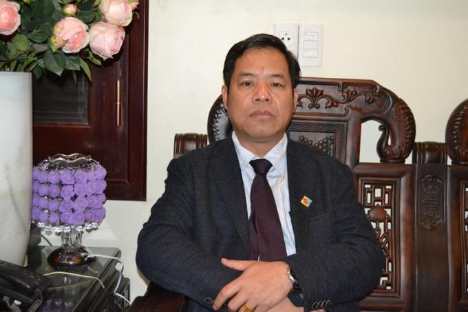 Luật sư Phạm Văn Học – Chủ tịch HĐQT Bệnh viện Đa khoa (BVĐK) Hùng Vương, Phú Thọ.