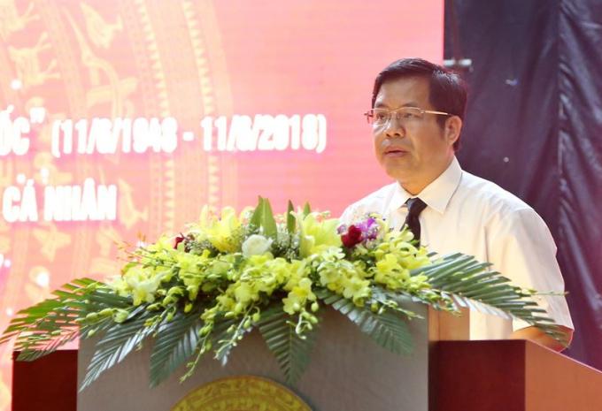 """Chủ tịch HĐQT BVĐK Hùng Vương Phạm Văn Học khẳng định: """"Nếu y tế là một pháo đài thì pháp luật chính là """"tấm khiên"""" vững chắc bảo vệ pháo đài ấy."""