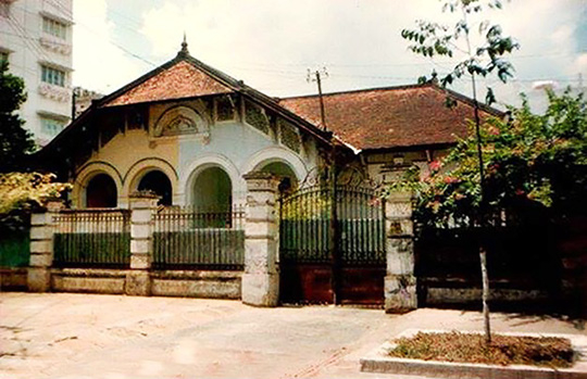 Biệt thự 68 Phạm Ngọc Thạch có kiến trúc cổ kính và được xây dựng trước 1975. - Ảnh: Tư liệu.
