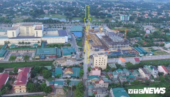 Nghệ An phê duyệt xây dựng dự án bệnh viện chồng lên đường Hồ Tông Thốc.