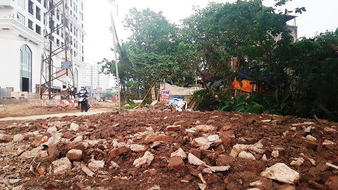 Bà Ðồng Thị Như Hoa, Phó Giám đốc Trung tâm phát triển quỹ đất quận Hoàng Mai cho biết, sau khi có phê duyệt chủ trương đầu tư dự án, cuối năm 2016 mới triển khai cắm mốc và phát sinh nhiều tranh chấp, khiếu kiện của người dân.