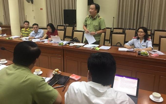 Đoàn kiểm tra liên ngành T.Ư làm việc với TP Hà Nội.