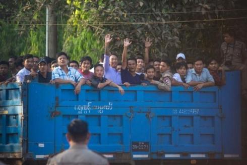 Tổng thống Myanmar Win Myint đã ân xá vô điều kiện cho 6.948 tù nhân trên khắp đất nước nhằm mục đích
