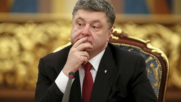 Tổng thống đương nhiệm của Ukraine Petro Poroshenko.