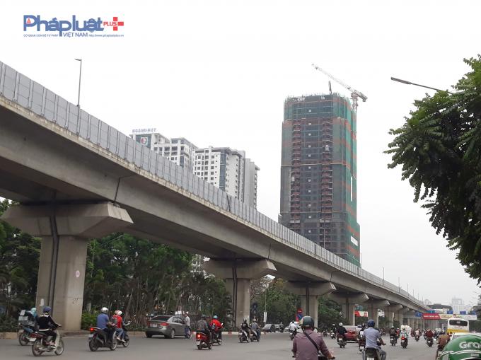 Dự án nằm tại 275 Nguyễn Trãi, Thanh Xuân, Hà Nội.