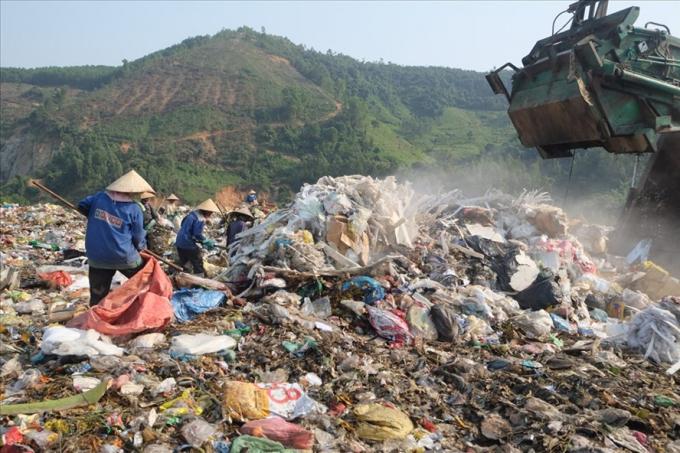 Bãi rác Khánh Sơn, TP Đà Nẵng.