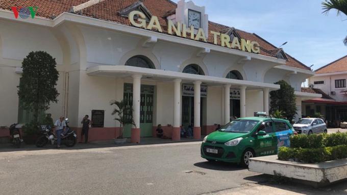 Ga Nha Trang là một công trình kiến trúc lịch sử.