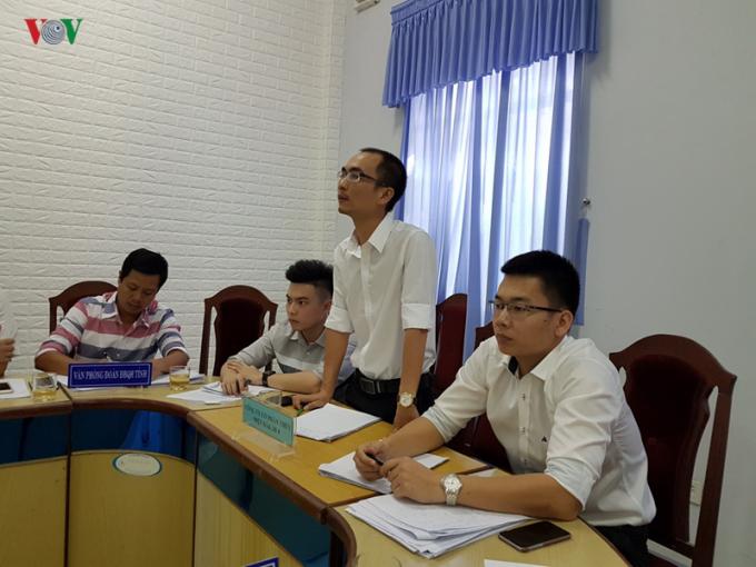 Đại diện Nhà đầu tư bày tỏ nguyện vọng được tiếp tục triển khai dự án.