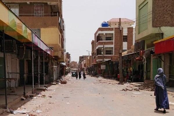 Đường phố thủ đô Khartoum vắng lặng giữa cuộc đình công.