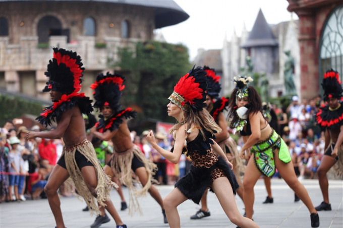 Các lễ hội quanh năm tại Bà Nà.