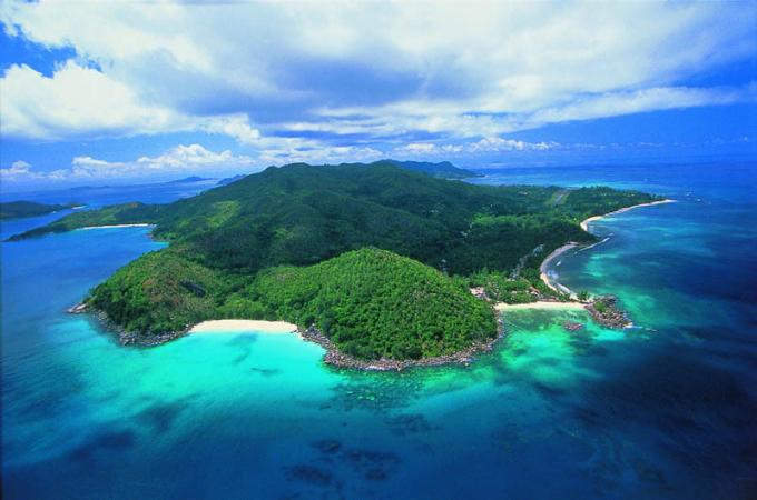 Cảnh đẹp mê hồn của đảo quốc Seychelles xinh đẹp giữa Ấn Độ Dương.