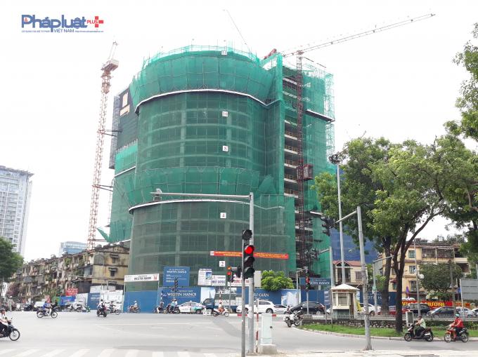 Dự án tổ hợp khách sạn Sao Phương Đông tọa lạc tại số 269 Kim Mã, phường Giảng Võ, quận Ba Đình, thành phố Hà Nội.