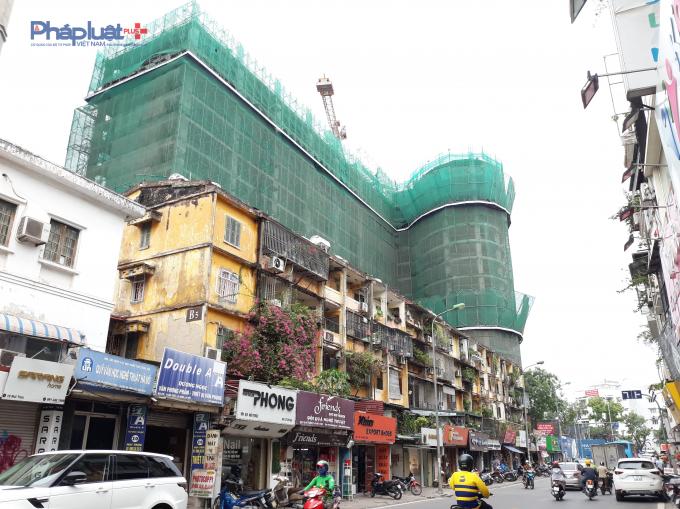 Hiện tại, dự án đã xây đến tầng 14.