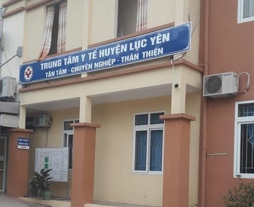 Trung tâm Y tế huyện Lục Yên. Ảnh: thuonghieuvaphapluat.vn.