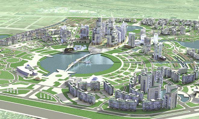 Phối cảnh dự án Khu đô thị Gia Lâm. (Nguồn: vnexpress.net).