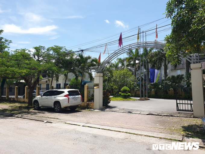 Trụ sở Công ty 507 - Chi nhánh Quảng Ninh. (Ảnh: H.H).
