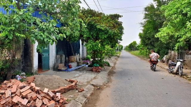 Khu tái định cư trên địa bàn xã Mỹ Trung, huyện Mỹ Lộc (Nam Định). Ảnh: nhandan.com.vn.
