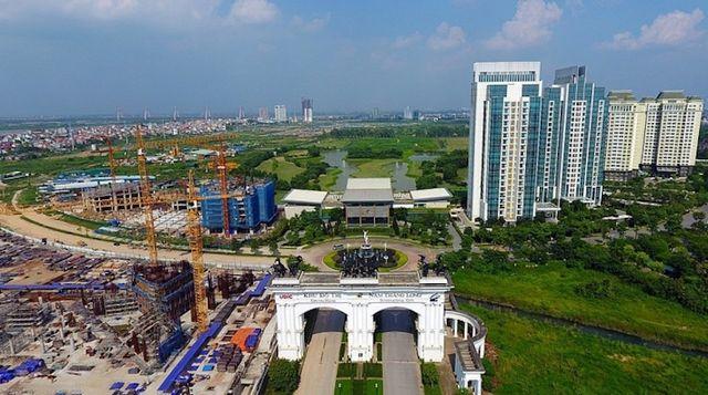 Dự án khu đô thị mới Nam Thăng Long