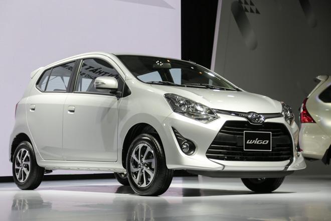Toyota Wigo 1.2G 2019 có giá 405 triệu đồng. Ảnh: oto.com.vn.